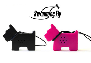 Swimming Fly Puppy Mini Speaker