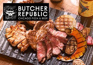 BUTCHER REPUBLIC 神保町<ディナーモニター>